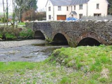 The bridge over the river Gwili
